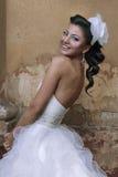 Piękna brunetki panna młoda Zdjęcie Royalty Free