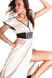 piękna brunetki seksowny Zdjęcia Royalty Free