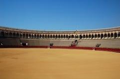 Piękna bullfight arena w S zdjęcia royalty free