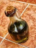 piękna butelka ubierać nafciane oliwne pikantność Zdjęcie Royalty Free