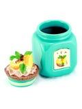 piękna ceramiczna składowa herbata Fotografia Royalty Free