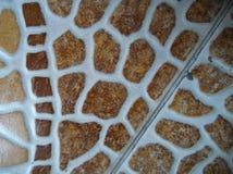 Piękna ceramika na podłodze obrazy royalty free