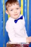 Piękna chłopiec Zdjęcia Royalty Free