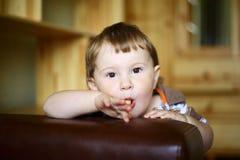 Piękna chłopiec Obraz Royalty Free