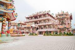 piękna chińska świątynia Obraz Royalty Free