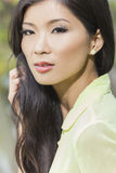 Piękna Chińska Azjatycka młodej kobiety dziewczyna Obrazy Stock