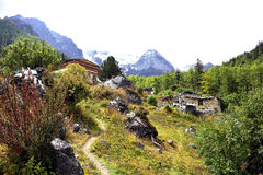 Piękna chińska wioska Fotografia Royalty Free