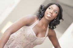 piękna czarny kobieta obraz royalty free