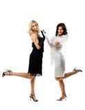 piękna czerń dwa biała kobieta Zdjęcie Stock