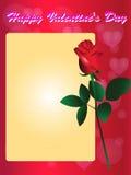 Piękna czerwieni róża Obrazy Royalty Free