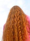 piękna czerwone włosy zdjęcie royalty free