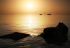 piękna czerwonego morza wschód słońca Obraz Stock