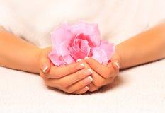 piękna dłoń Obrazy Royalty Free