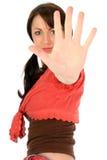 piękna dłoń w młodych kobiet Obrazy Royalty Free