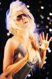 piękna dancingowa kobieta Zdjęcie Stock
