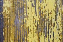 Piękna drewniana tekstura, pęknięcia, stara farba Zdjęcie Royalty Free