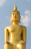 Piękna duża Buddha statua w Ubonratchani, Tajlandia Obrazy Stock
