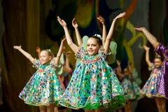 piękna dzieci konkurs s fotografia stock
