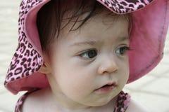 piękna dziecka różowy Zdjęcie Stock