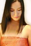 piękna dziewczyna azjatykcia fotografia stock