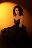 piękna dziewczyna dramatyczne portret obrazy royalty free