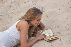 piękna dziewczyna księgowa Obrazy Stock