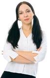 piękna dziewczyna portret zdjęcie stock