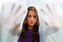 piękna dziewczyna portret Zdjęcia Royalty Free