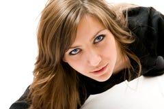 piękna dziewczyna szczęśliwa zdjęcia stock