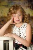 piękna dziewczyna trochę zdjęcia royalty free