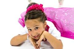 piękna dziewczyna trochę Zdjęcie Royalty Free