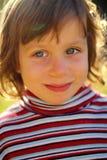 Piękna dziewczyna w świetle słonecznym Obrazy Stock