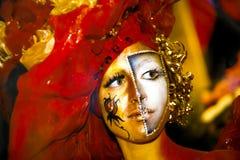 Piękna dziewczyna z artystycznym makijażem Obrazy Royalty Free