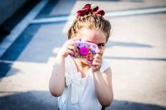 Piękna dziewczynka Na Inwalidzkiej świadomość tygodnia sztuce I folkloru wydarzeniu - Turcja Zdjęcie Royalty Free