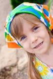 piękna dziewczyny mały portret Zdjęcia Royalty Free