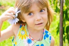 piękna dziewczyny mały portret Fotografia Stock