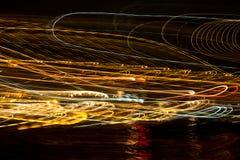 Piękna fala światło Obraz Royalty Free