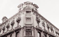 Piękna fasada budynek zdjęcie stock