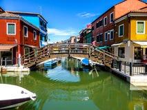 Piękna fotografia Murano, Wenecja - Włochy obrazy stock