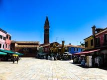 Piękna fotografia Murano, Wenecja - Włochy zdjęcie royalty free