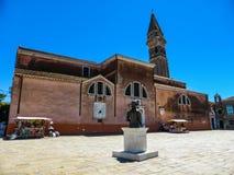 Piękna fotografia Murano, Wenecja - Włochy obraz royalty free