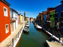 Piękna fotografia Murano, Wenecja - Włochy obrazy royalty free