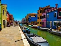 Piękna fotografia Murano, Wenecja - Włochy zdjęcia stock