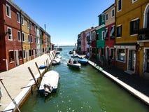 Piękna fotografia Murano, Wenecja - Włochy obraz stock