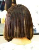 piękna fryzura ślub Obraz Royalty Free