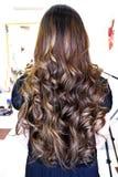 piękna fryzura ślub Fotografia Royalty Free