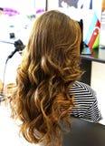 piękna fryzura ślub Obrazy Stock