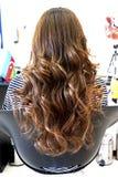 piękna fryzura ślub Zdjęcie Royalty Free