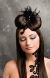 piękna fryzura obraz stock