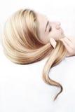 piękna fryzura zdjęcie stock